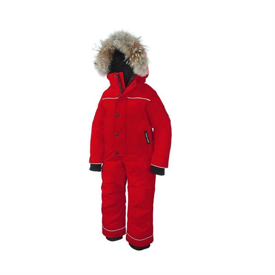 Image of   Canada Goose Kids Grizzly Snowsuit, Red