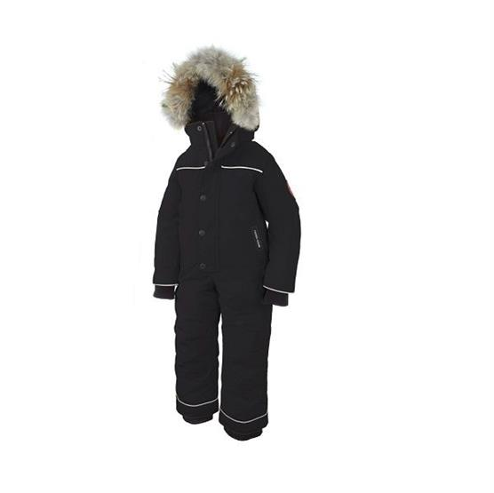 Image of Canada Goose Kids Grizzly Snowsuit, Black