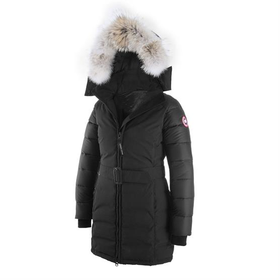 Image of Canada Goose Ladies Rowan Parka, Black