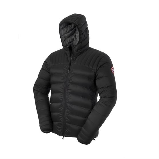 Image of   Canada Goose Mens Brookvale Hoody, Black / Graphite