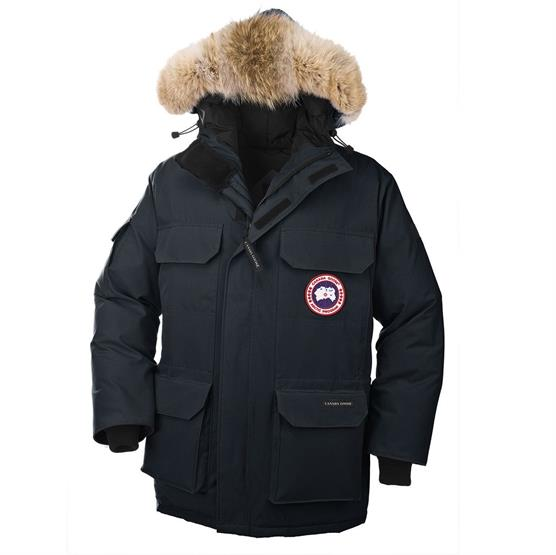 Canada Goose Mens Expedition Parka, Ink Blue