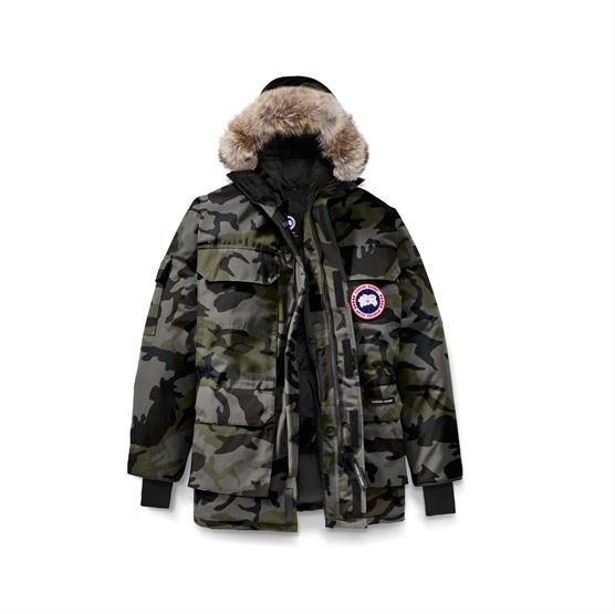 Image of   Canada Goose Mens Expedition Parka Print, Camo Coastal