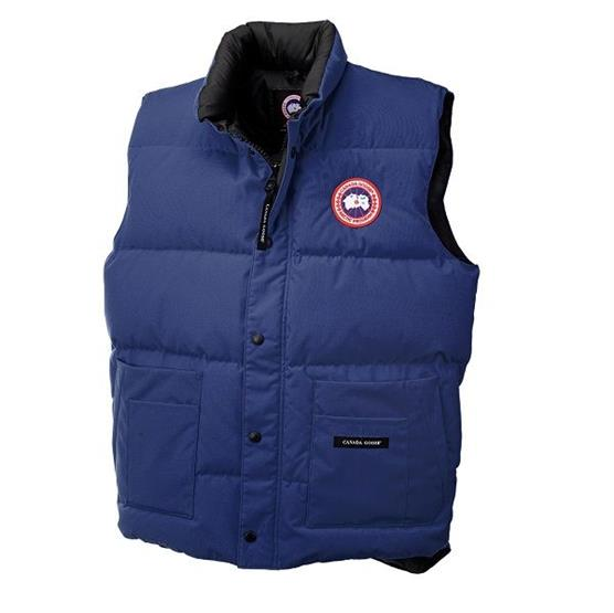 Image of   Canada Goose Mens Freestyle Vest, Pacific Blue