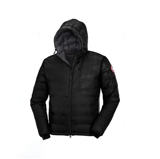 Image of   Canada Goose Mens Lodge Hoody, Black / Graphite