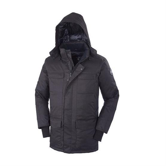 Canada Goose Mens Windemere Coat, Black