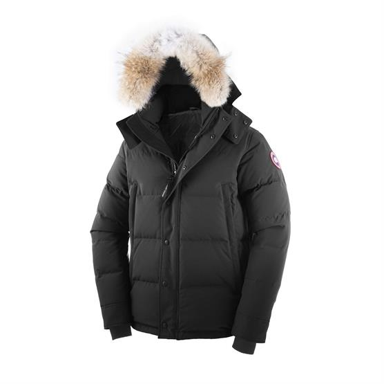 Image of   Canada Goose Mens Wyndham Parka, Black