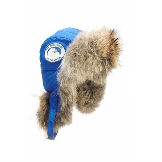 Image of   Canada Goose Mens Aviator Hat PBI, Royal Blue