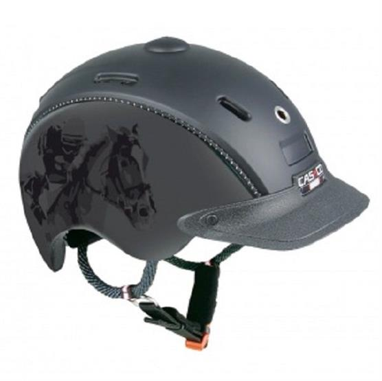 Casco Choice Jockey Ridehjelm, Sort