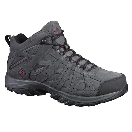 Image of   Columbia Canyon Point Mid Leather Omni-Tech Mens, Dark Grey