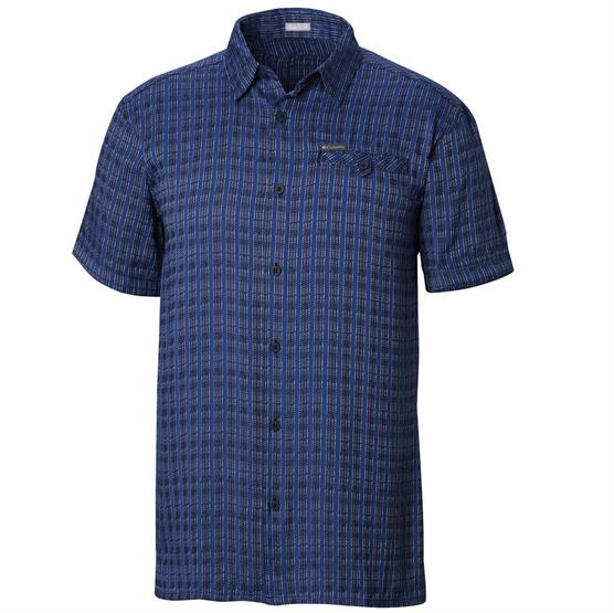 Image of   Columbia Declination Trail II S/S Shirt Mens, Navy