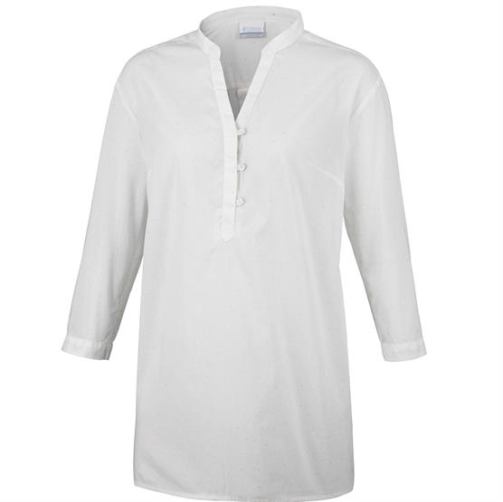 Image of   Columbia Early Tide Tunic Womens, Sea Salt Dots