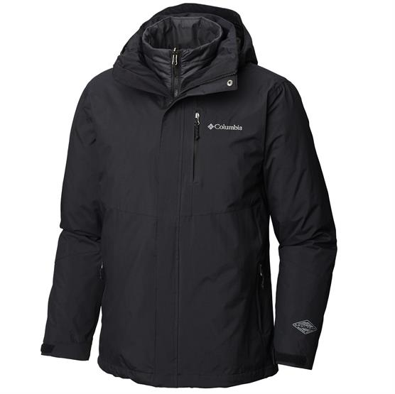 Image of   Columbia Element Blocker II Interchange Jacket Mens, Black