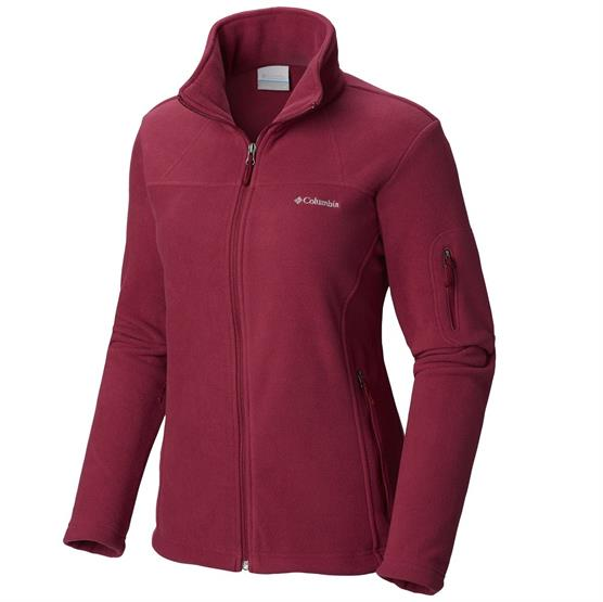 Image of   Columbia Fast Trek II Jacket Womens, Wine Berry