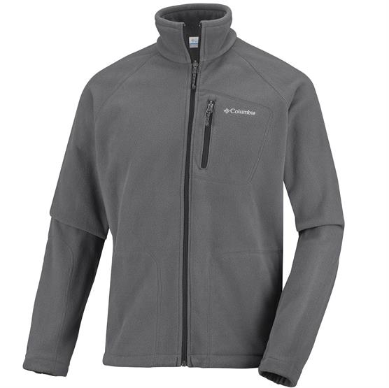 Columbia Mens Fast Trek II Full Zip Fleece, Grill