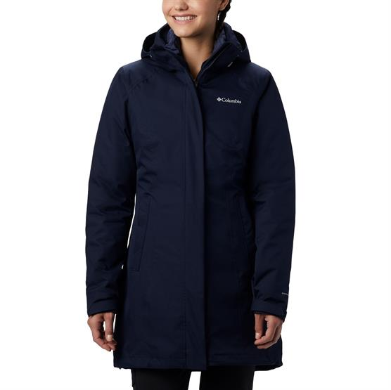 Image of   Columbia Salcantay Long Hooded Int. Jacket Womens, Nocturnal