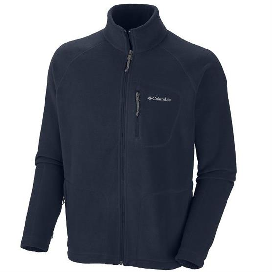Columbia Mens Fast Trek II Full Zip Fleece, Abyss
