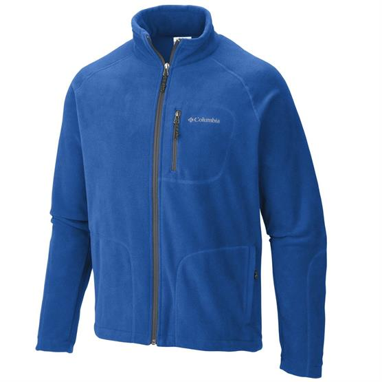 Columbia Fast Trek Ii Full Zip Fleece Herre, Super Blue