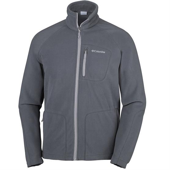 Image of   Columbia Fast Trek II Full Zip Fleece Herre, Graphite