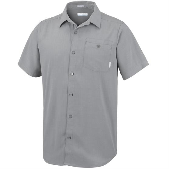 Image of   Columbia Mossy Trail Short Sleeve Shirt Mens, Boulder