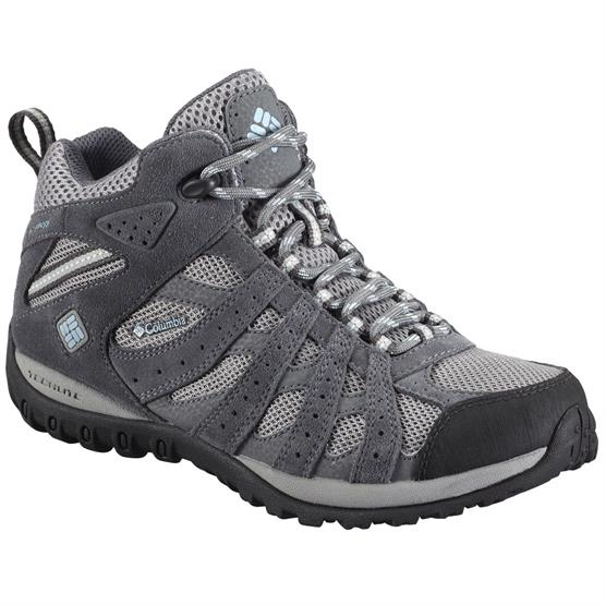 Image of   Columbia Redmond Mid Waterproof Dame, Light Grey