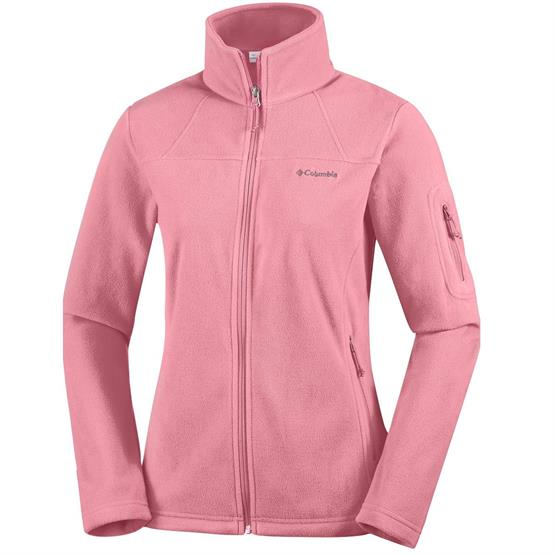 Columbia Womens Fast Trek II Full Zip Fleece, Canyon Rose