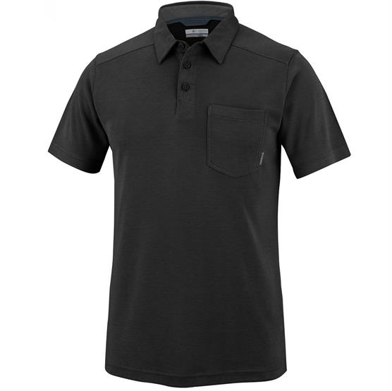 Image of   Columbia Sun Ridge II Novelty Polo Mens, Black