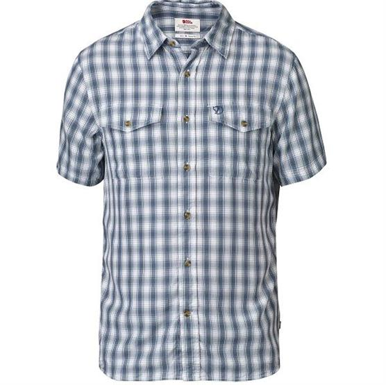 Image of   Fjällräven Abisko Cool Shirt S/S Mens, Lake Blue