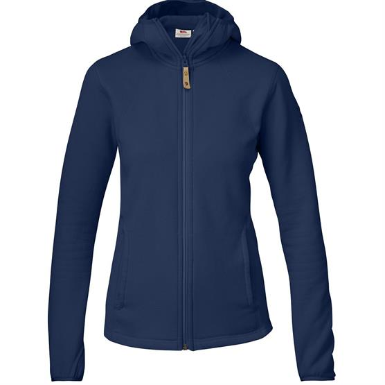 Image of   Fjällräven Abisko Fleece Hoodie Womens, Blueberry