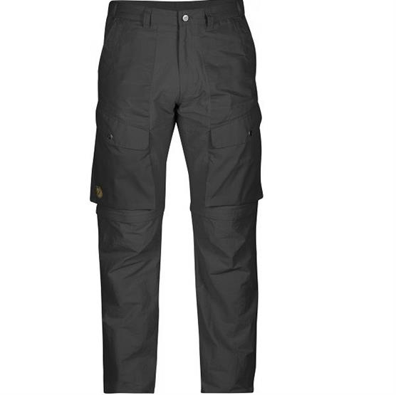 Image of   Fjällräven Abisko Hybrid Zip-Off Mens, Dark Grey