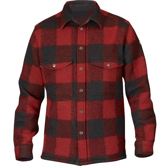 Image of   Fjällräven Canada Shirt Mens, Red