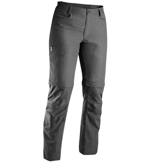 Image of   Fjällräven Daloa MT Zip-Off Trousers Womens, Dark Grey