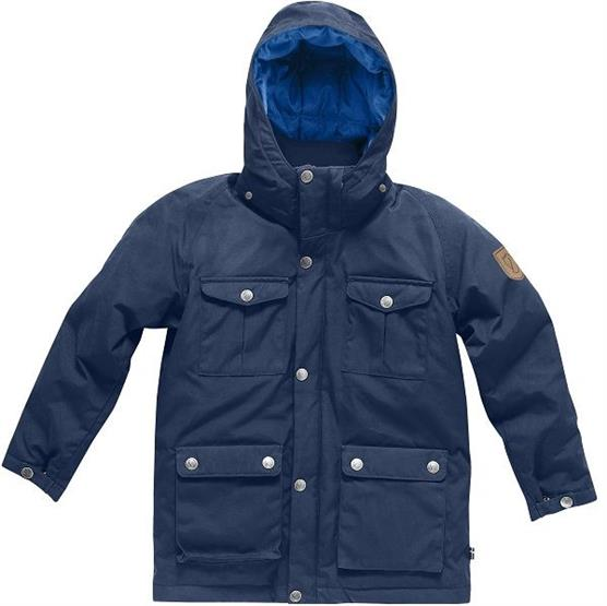 Image of   Fjällräven Greenland Down Parka Kids, Blueberry