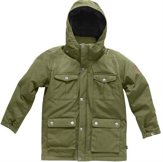 Image of   Fjällräven Greenland Down Parka Kids, Green