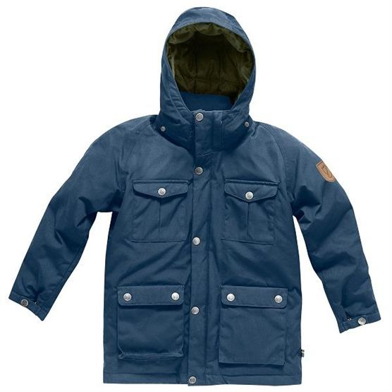 Image of   Fjällräven Greenland Down Parka Kids, Uncle Blue