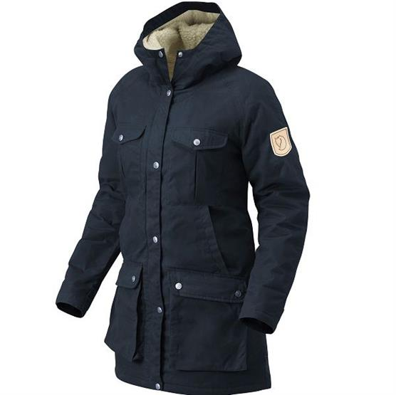 Fjällräven Greenland Winter Parka Womens, Dark Navy
