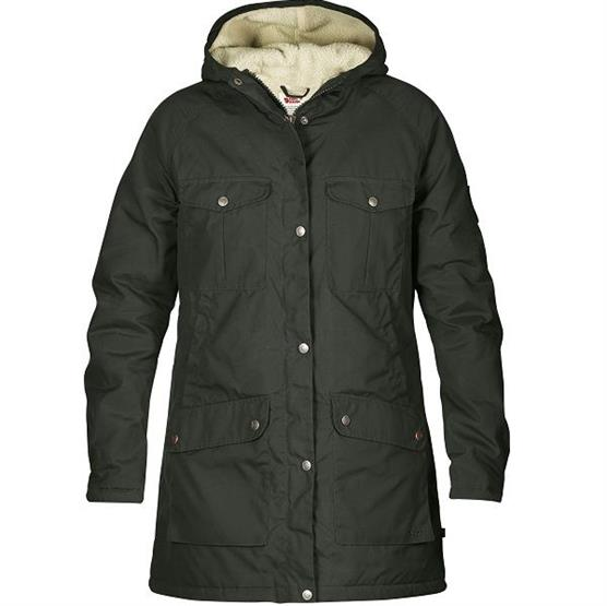 Fjällräven Greenland Winter Parka Womens, Mountain Grey