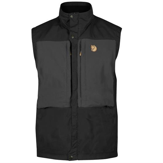 Image of   Fjällräven Keb Vest Mens, Black / Dark Grey