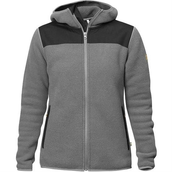 Image of   Fjällräven Sarek Fleece Hoodie Womens, Grey