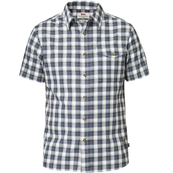 Image of   Fjällräven Sarek Shirt S/S Mens, Uncle Blue