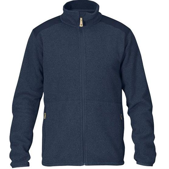 Image of   Fjällräven Sten Fleece Mens, Dark Navy