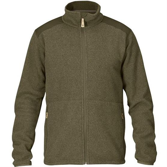 Image of   Fjällräven Sten Fleece Mens, Dark Olive