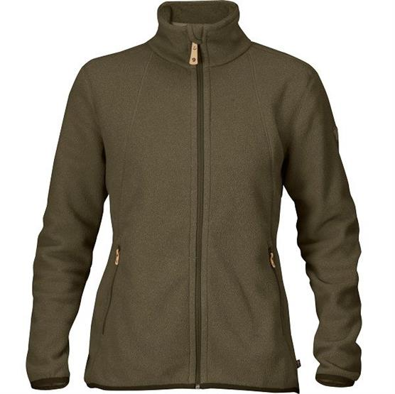Image of   Fjällräven Stina Fleece Womens, Dark Olive