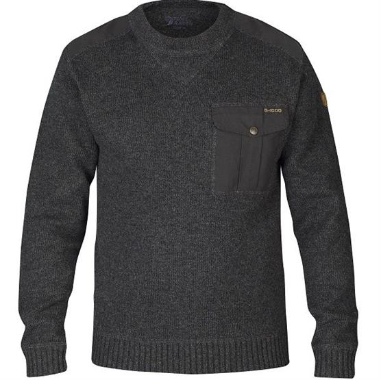 Fjällräven Torp Sweater Mens, Graphite