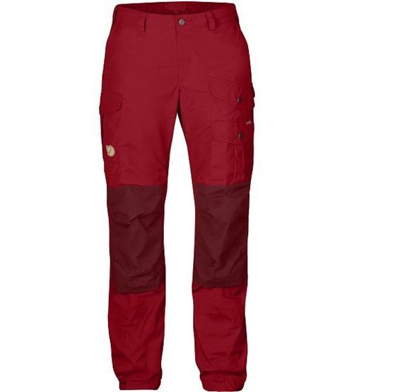 Fjällräven Vidda Pro Trousers Womens, Deep Red