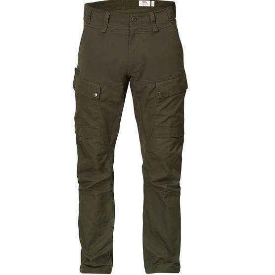 Fjällräven Lappland Hybrid Trousers Mens, Dark Olive