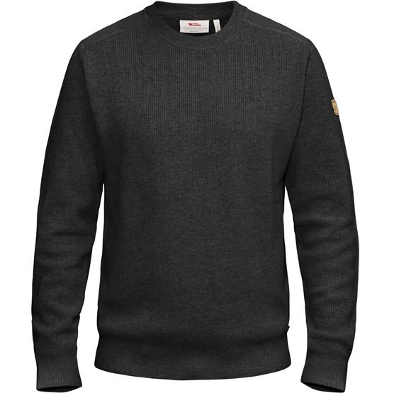 Image of   Fjällräven Sörmland Crew Sweater Mens, Dark Grey