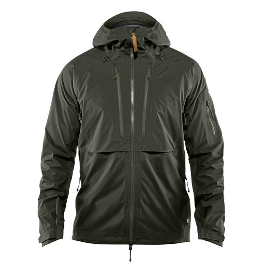 Image of   Fjällräven Keb Eco-Shell Jacket Mens, Deep Forest