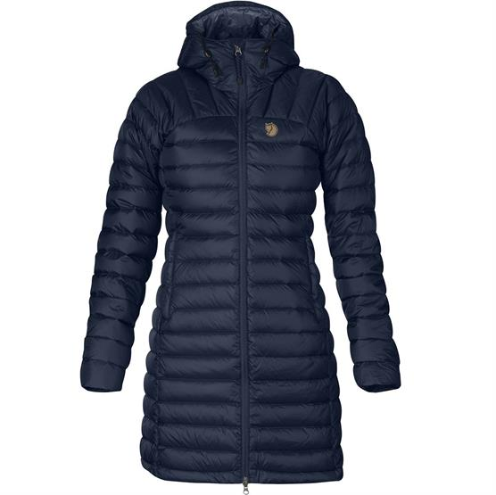 Fjällräven Snow Flake Parka Womens, Dark Navy