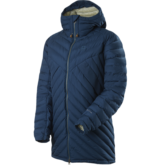 Image of   Haglöfs Hesse Q Down Jacket Dame, Blue Ink
