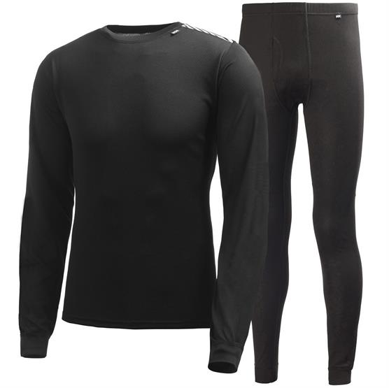 Image of   Helly Hansen Mens HH Comfort Dry 2-Pack, Black